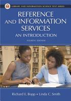 Reference and Information Services  An Introduction  4th Edition PDF