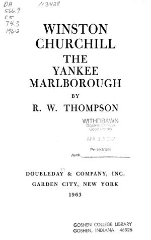 The Yankee Marlborough PDF