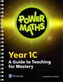 Power Maths Year 1 Teacher Guide 1C