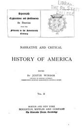 Narrative and Critical History of America: Volume 2