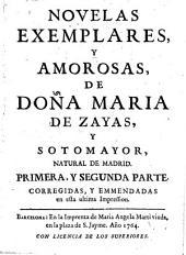 Novelas exemplares y amorosas: Corregidas y emmendadas en esta ultima impression, Partes 1-2