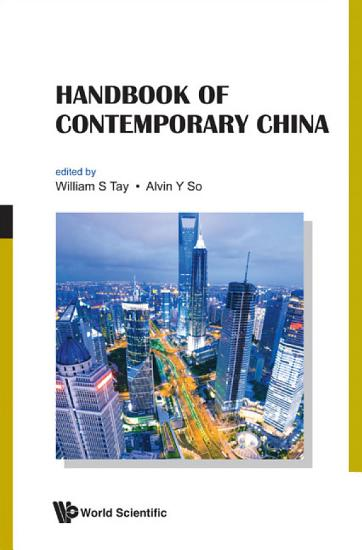 Handbook of Contemporary China PDF