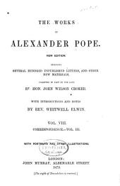 The Works of Alexander Pope: Volume 8