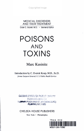 Poisons and Toxins PDF