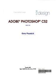Essentials for Design Adobe Photoshop CS2, Level One