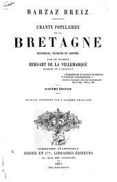Barzaz Breiz: Chants populaires de la Bretagne