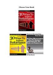 90 Ways To Improve Performance At Work and Personal Life: Productivity Bundle