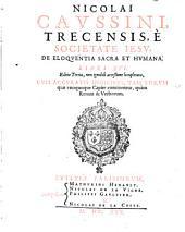 De Eloquentia sacra et humana: libri 16