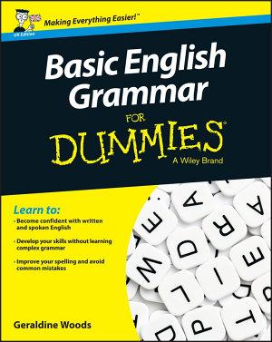 Basic English Grammar For Dummies   UK PDF