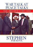Download War Talk at Peace Talks Book