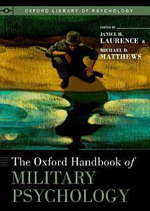 The Oxford Handbook of Military Psychology PDF