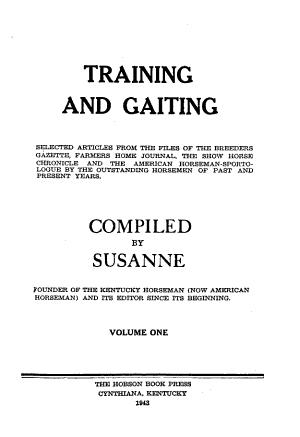 Training and Gaiting PDF