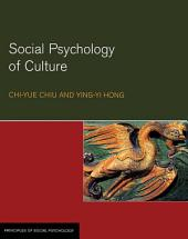 Social Psychology of Culture