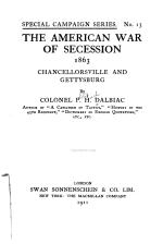The American War of Secession, 1863