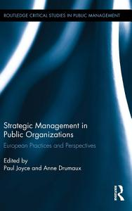 Strategic Management in Public Organizations PDF