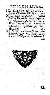 Bibliothèque ancienne et moderne: pour servir de suite aux Bibliothèques universelle et choisie, Volume23