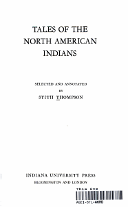 TALES OF THE NORTH AMERICAN INDIANS PDF