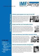 IMF Survey – Issue 3