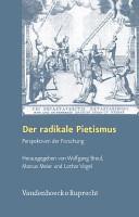 Der radikale Pietismus PDF
