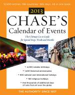 Chase's Calendar of Events 2013