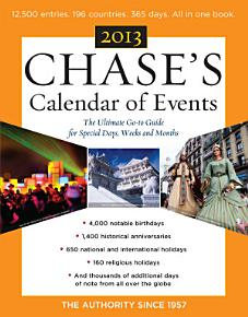 Chase s Calendar of Events 2013 PDF