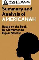 Summary and Analysis of Americanah PDF