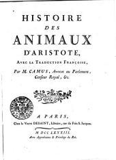Histoire des animaux: Volume1