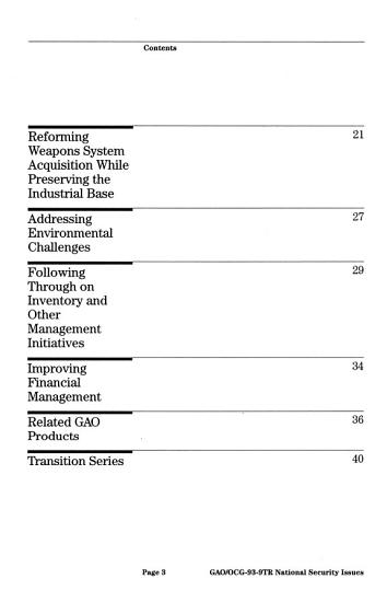 National Security Issues PDF