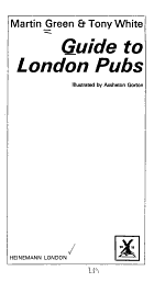 Guide to London Pubs
