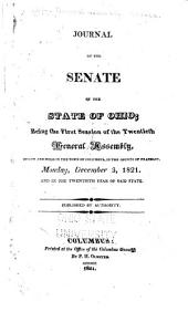 Journal of the Senate of the State of Ohio: Volume 20