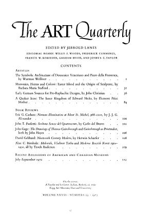 The Art Quarterly