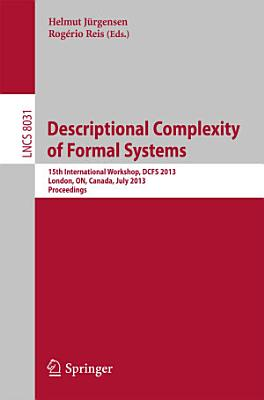 Descriptional Complexity of Formal Systems PDF