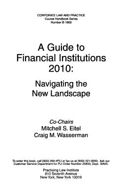 A Guide to Financial Institutions PDF