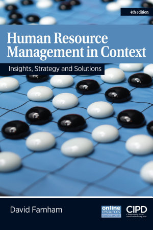 Human Resource Management in Context PDF