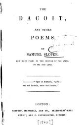 The Dacoit, and Other Poems