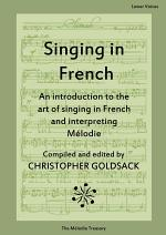 Singing in French - lower voices