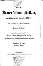 Neues Konversations-Lexikon: e. Wörterbuch d. allgemeinen Wissens, Band 11