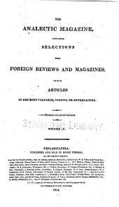 The Analectic Magazine