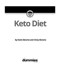 Keto Diet For Dummies Book