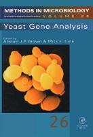 Yeast Gene Analysis PDF