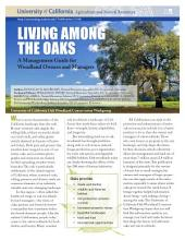 Living among the Oaks: A Management Guide for Landowners and Managers