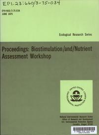 Proceedings  Biostimulation   Nutrient Assessment Workshop