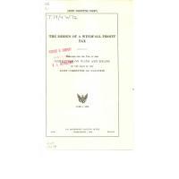 The Design of a Windfall Profit Tax PDF