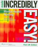 Mental Health Nursing Made Incredibly Easy  PDF