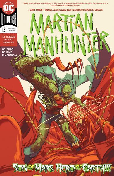 Download Martian Manhunter  2018 2020   12 Book