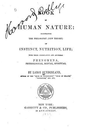 Book of Human Nature