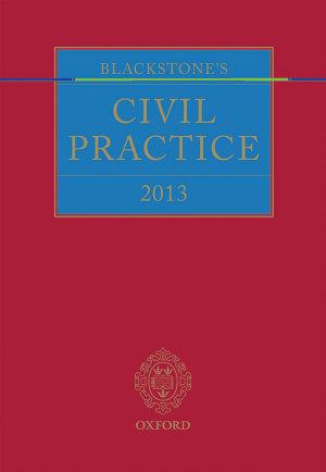 Blackstone s Civil Practice 2013 PDF