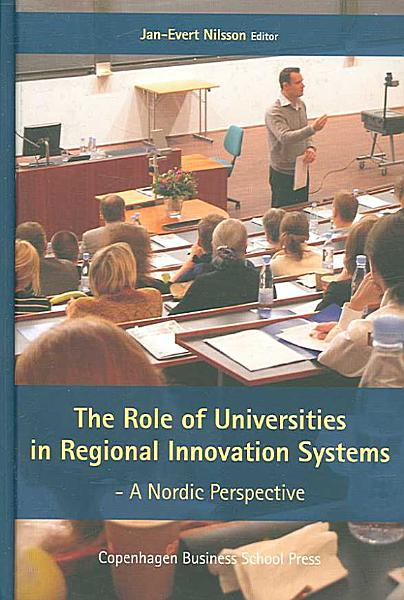 Download The Role of Universities in Regional Innovation Systems Book