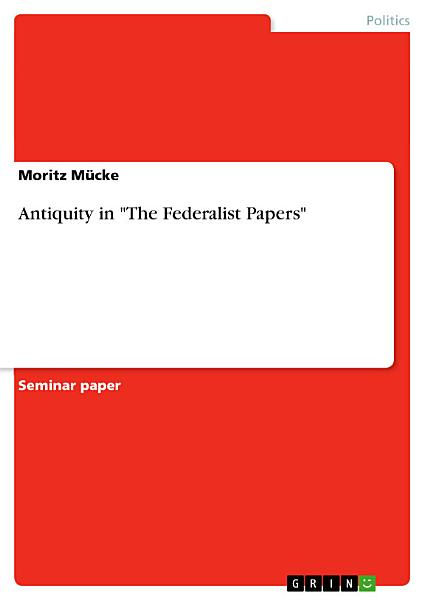 Download Antiquity in  The Federalist Papers  Book