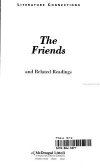 Holt McDougal Library  High School with Connections  Individual Reader the Friends 1996